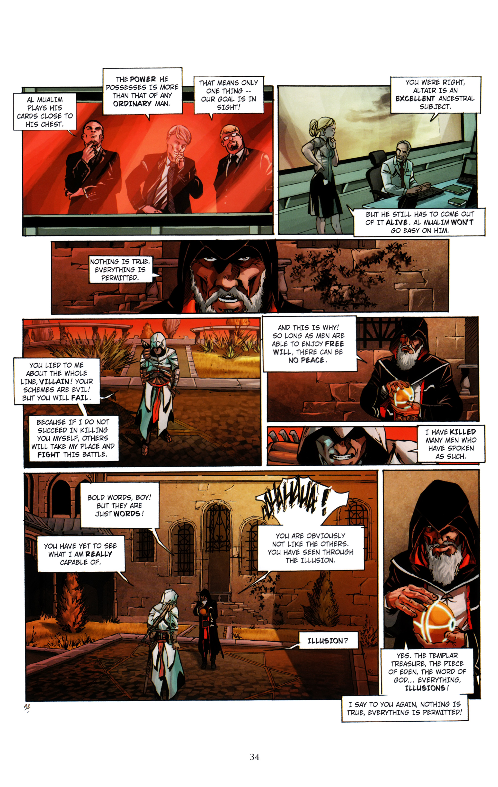 Read online Assassin's Creed (2012) comic -  Issue #1 - 38