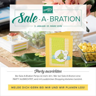 Sale-A-Bration 2019 Stampin'Up!