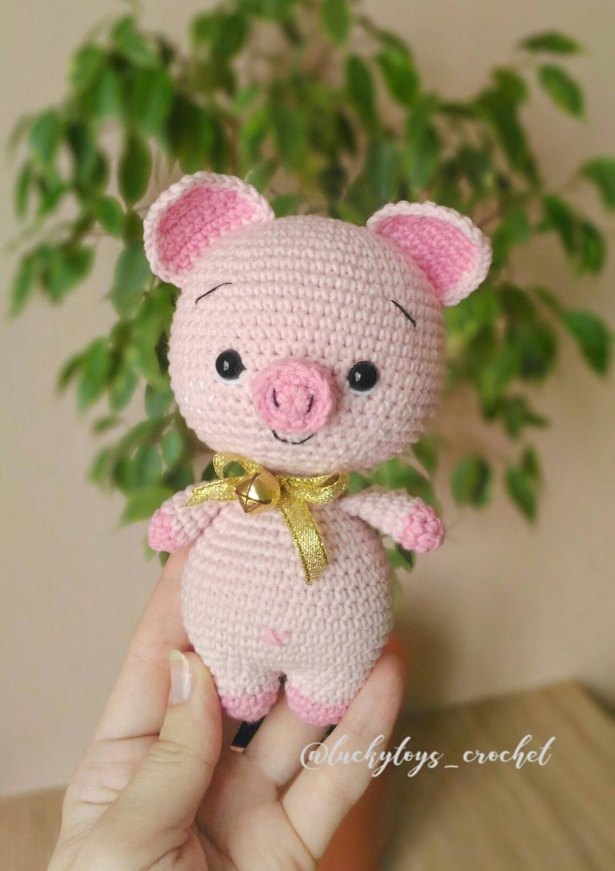 Easy Cube Animals Free Crochet Pattern | Crochet pig, Amigurumi ... | 1530x1080