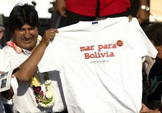 Evo Morales: Los mares deben servir para el desarrollo de naciones, no de oligarquías (+Tuits)