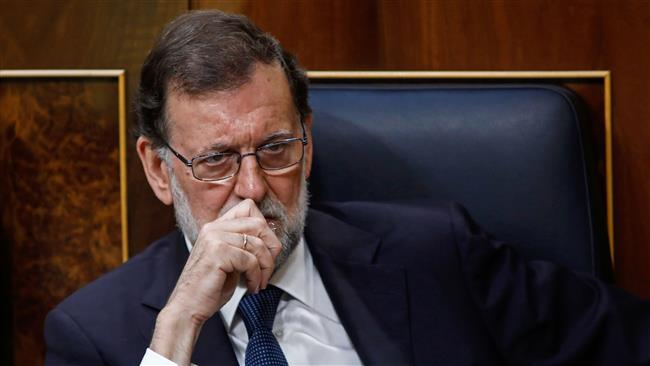 Spain's Prime Minister Mariano Rajoy urges calm over Catalonia independence