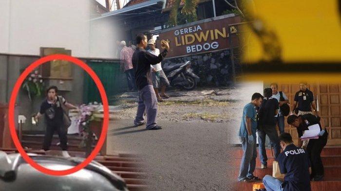 Pulang dari Sulawesi Suka Jubahan, Kecam Pujian di Mushola, Sosok Suliono Penyerang Gereja St. Lidwina Juga Suka 'Cekcok' Soal Agama dengan Kakaknya yang Berlatar NU