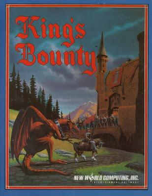 Portada videojuego King's Bounty