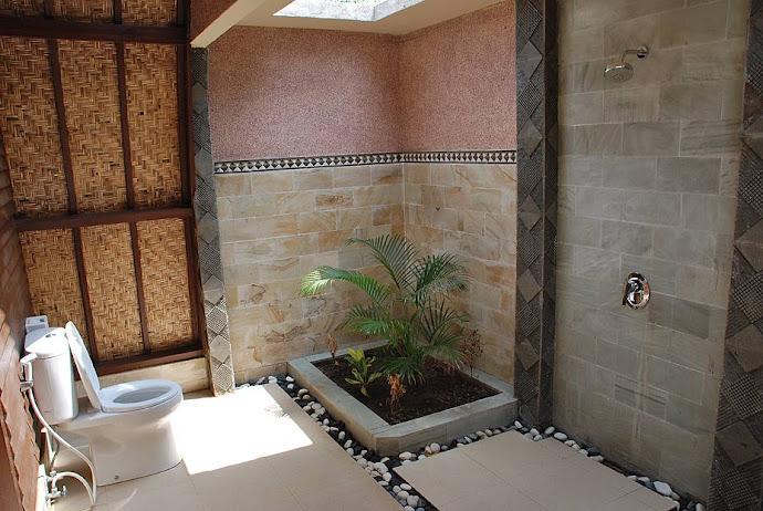 Baño de hotel
