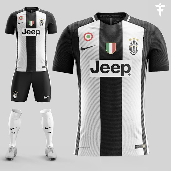 online store da4f5 b2099 Juventus Nike Concept Kit Revealed - Footy Headlines