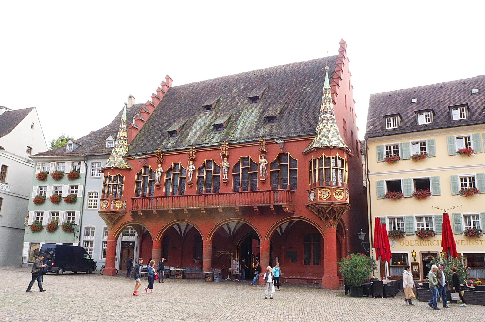 Rote Kaufhaus in Freiburg