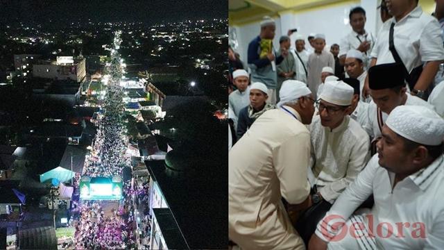 Dihadiri Sandiaga, Jutaan Umat Islam Hadir di Haul Guru Sekumpul