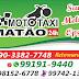 Moto taxi Matão.Motoqueiros uniformizados e responsável.