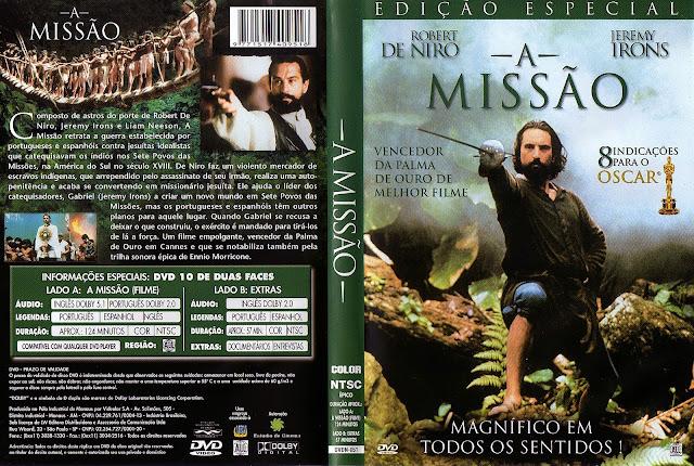 Capa DVD A Missão