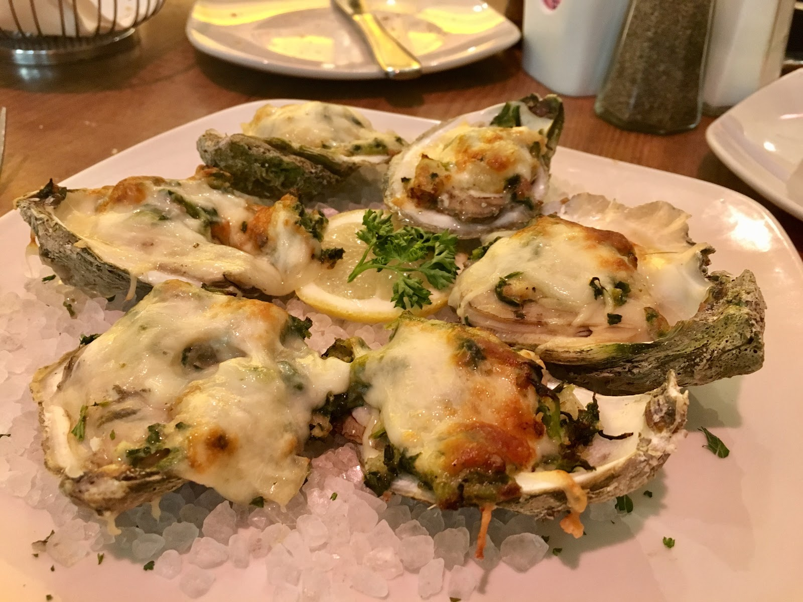 Texas Gulf Coast oysters Food to eat in Texas