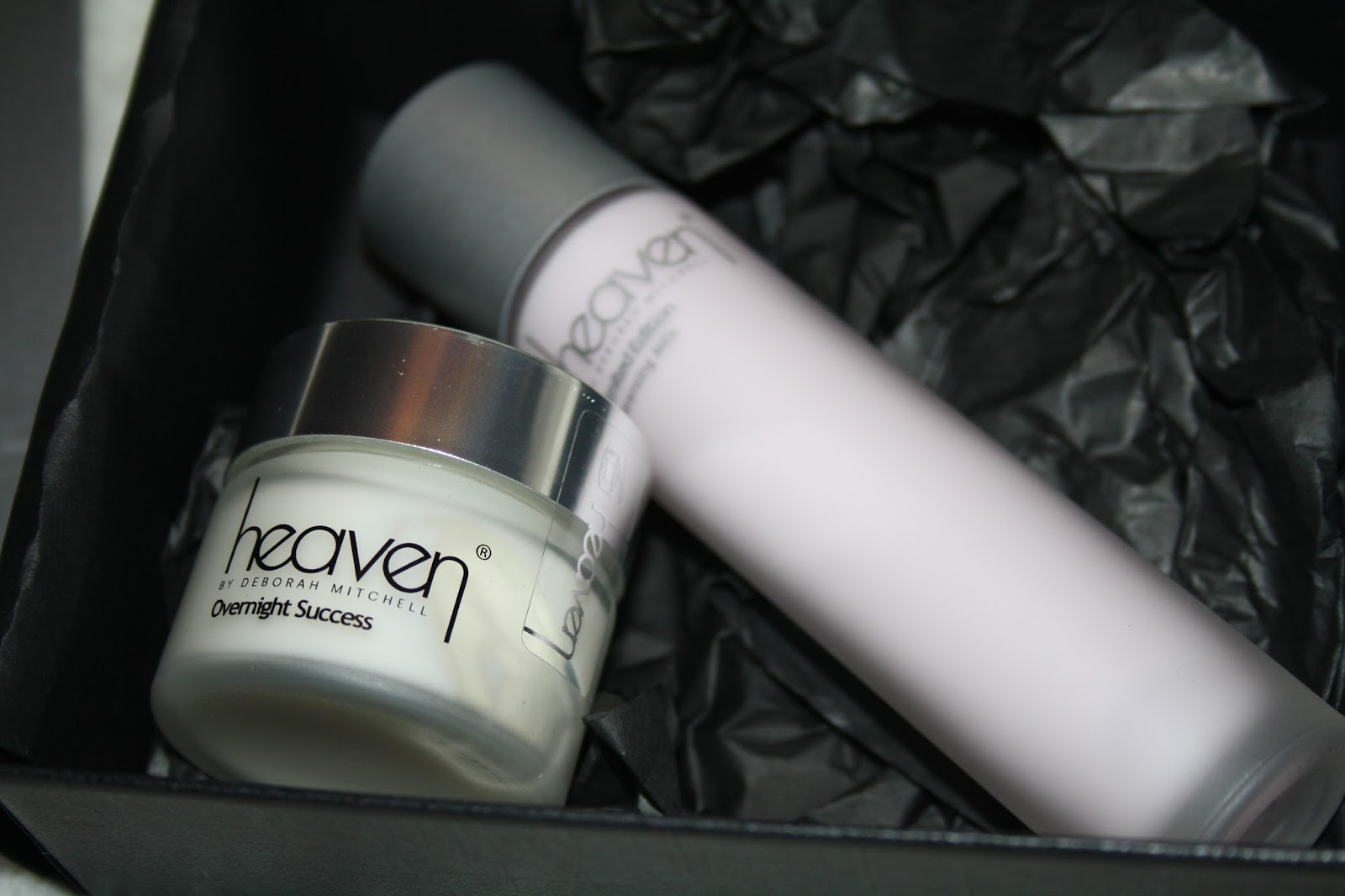 Heaven Skincare Giftset contents
