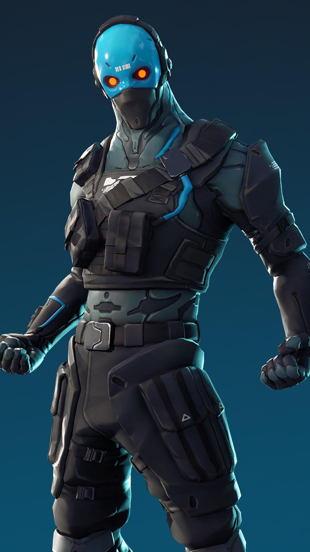 Fortnite Battle Royale Cobalt Outfit Skin 4k Wallpaper 89