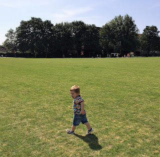 Sunshine, smiles, sunshine and smiles, happiness, love, family, parenting, my mummy spam, blog, park, running field, green, out, sunny, sunny day,