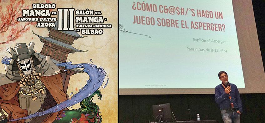 Charla sobre Arte Manga y Asperger en el Salón del Manga de Bilbao