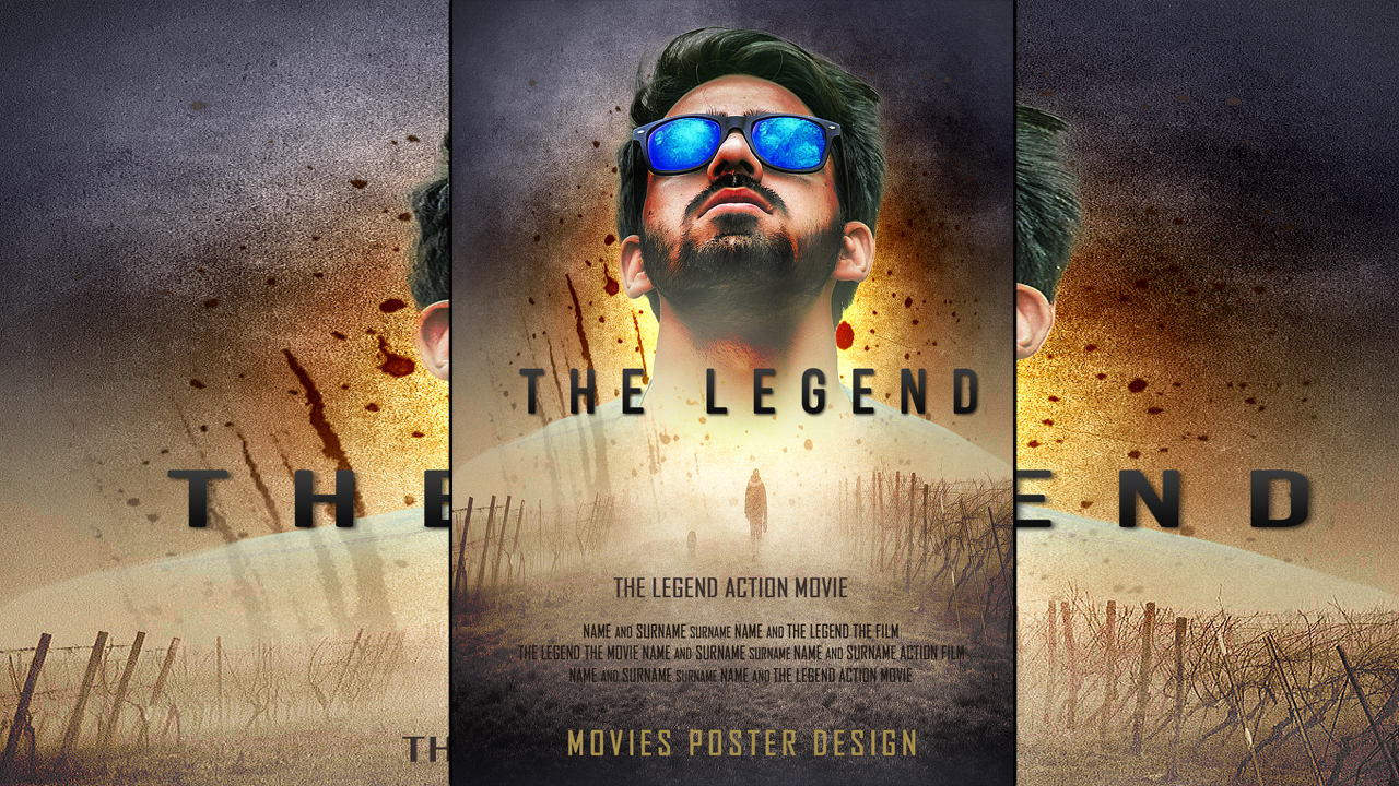 make a movie poster design in photoshop wwwrptechshopin