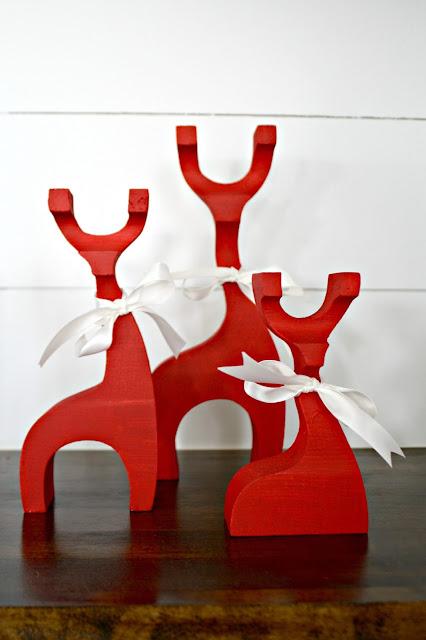 red wood reindeer