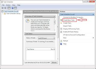 Cara Membuat Shutdown Otomatis Di Windows  Cara Membuat Shutdown Otomatis Di Windows 7