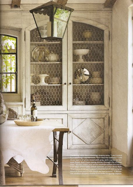farmhouse-built-ins-chicken-wire