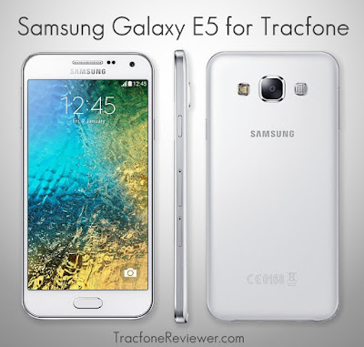 which is available to use with Tracfone prepaid service Tracfone Samsung Galaxy E5 Review
