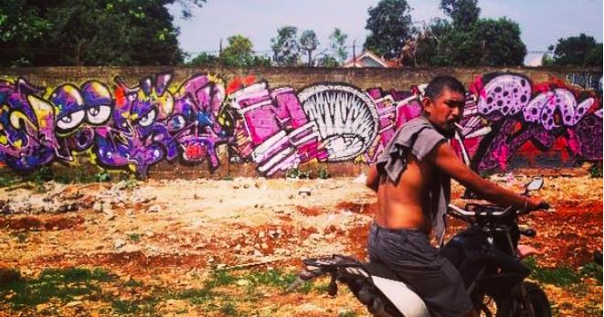 Buff Diss Masking Tape Art Street Art Tape Art