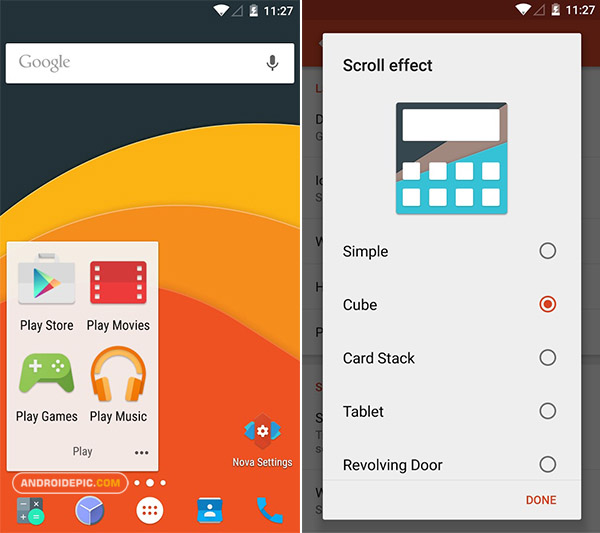 Nova Launcher Prime Apk Gratis Full Version 6.1.11 Final + Tesla Unread