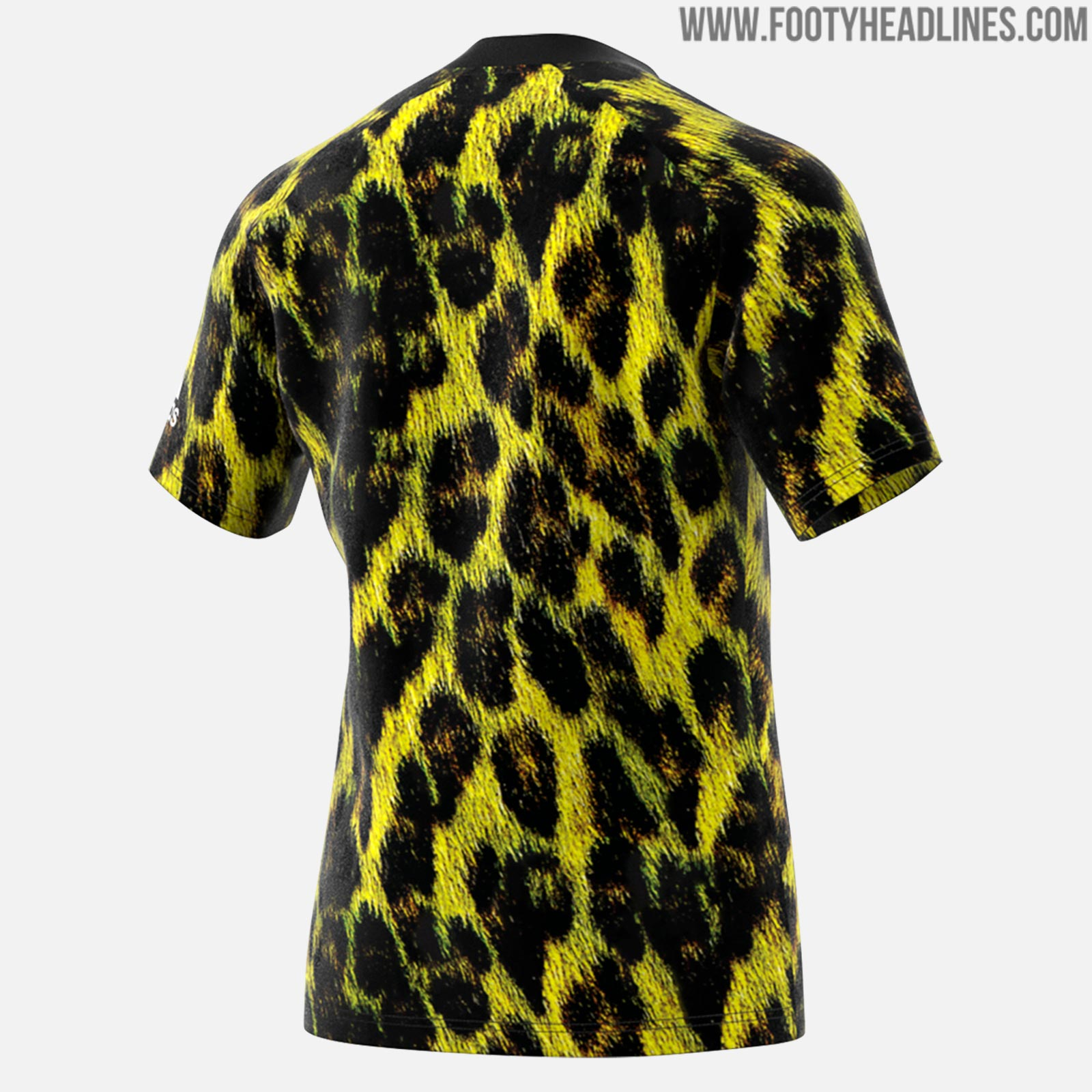 ... Adidas x EA Sports Man United Fourth kit boasts an all-over black and  yellow graphic print that shows a leopard. Just as Man Utd s  special-edition kit f5becbbf4