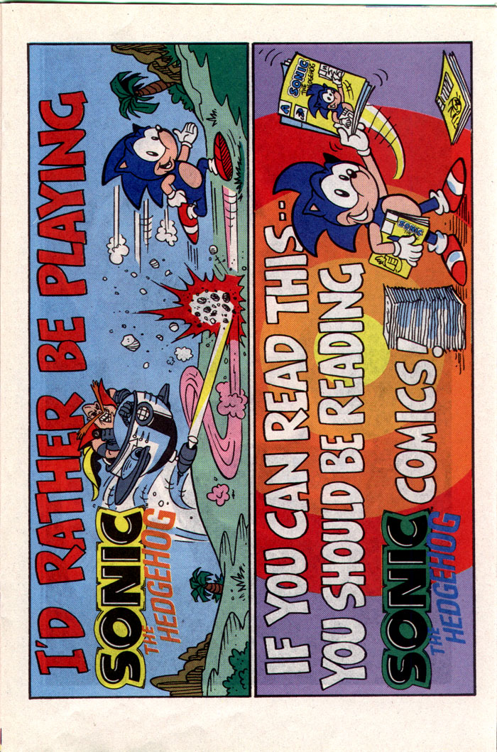 Read online Sonic The Hedgehog comic -  Issue #1 - 15