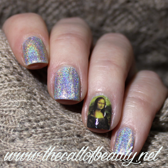 Nail Art: Mona Lisa Smile - Inspired by Art