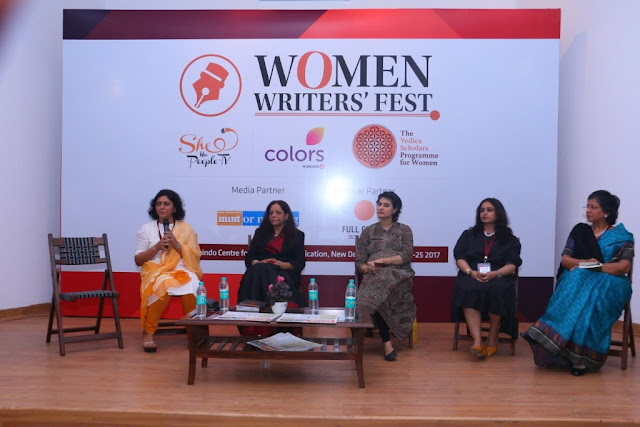 Left to right Sonia Golani, Poonam Barua, Shaili Chopra, Milee Ashwarya and Sonu Bhasin-min