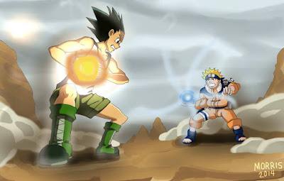 Gon vs Naruto