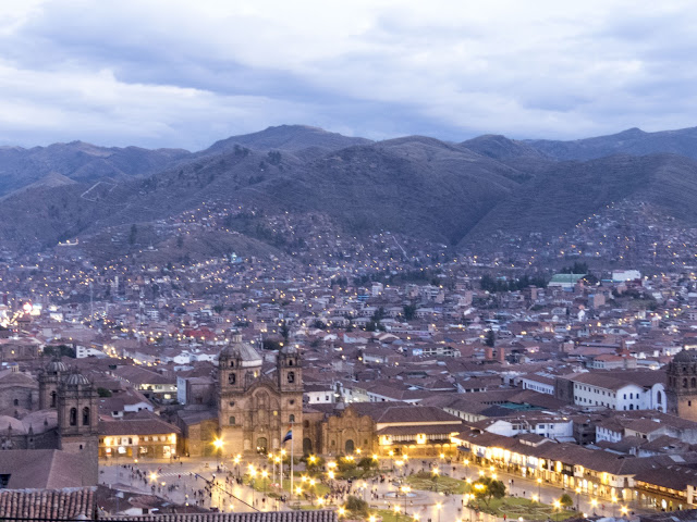 3 days in Cusco: Views of Cusco from San Cristobol Church