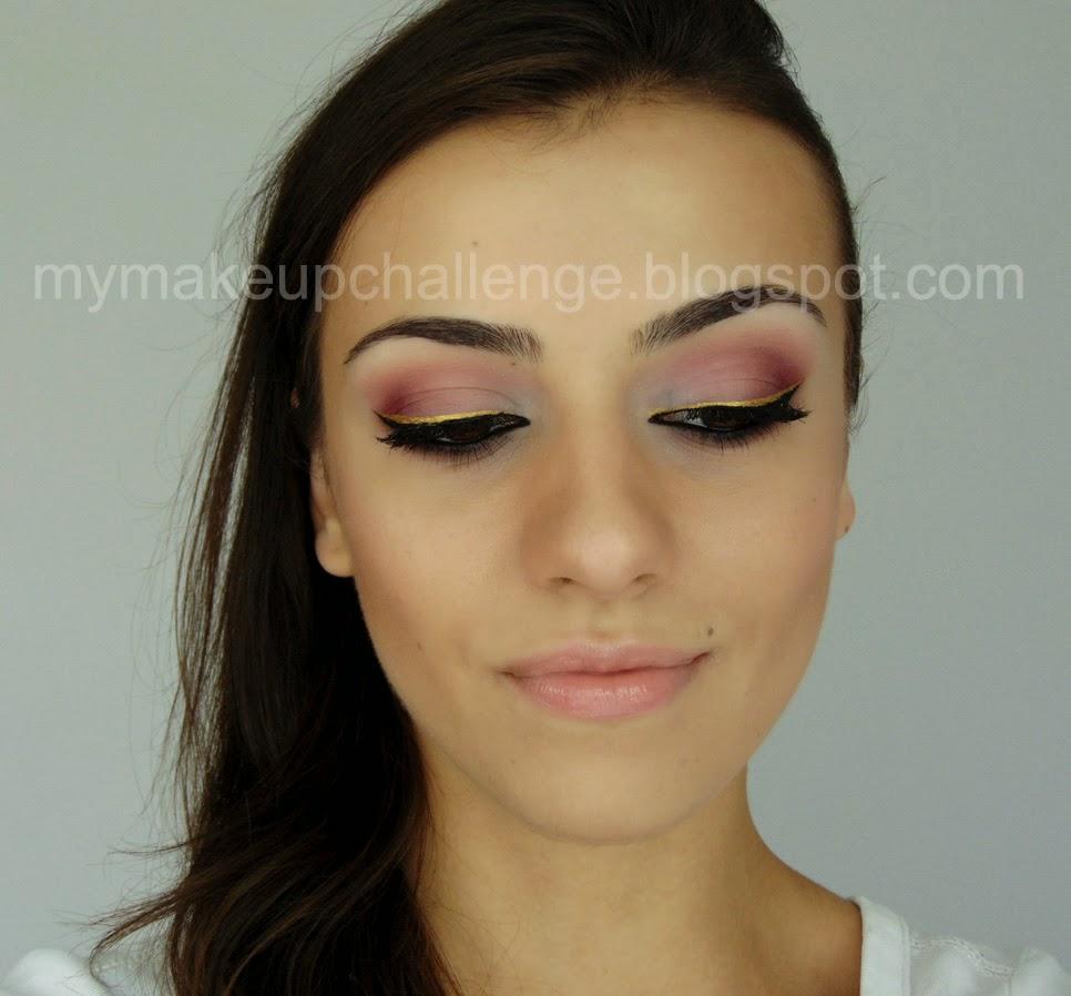 My Makeup Challenge Makijaż W Stylu Arabskim Arabic Style Makeup