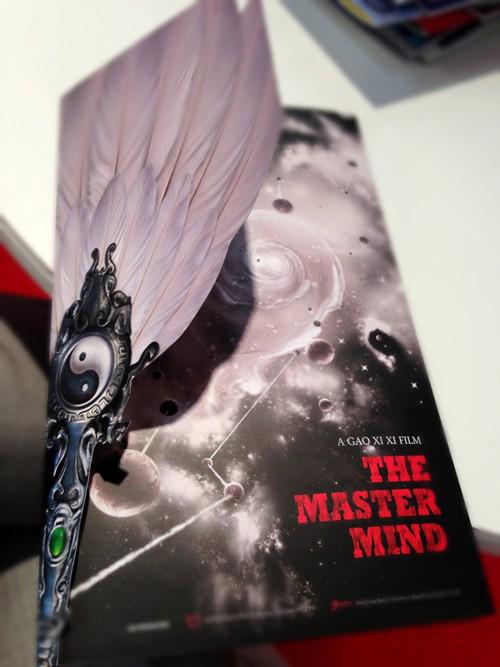 แผ่นพับสามก๊ก The Master Mind เมืองคานส์