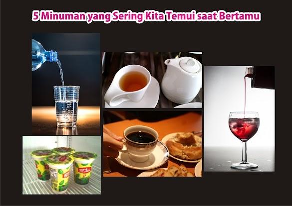 5 Minuman yang Sering Kita Temui saat Bertamu