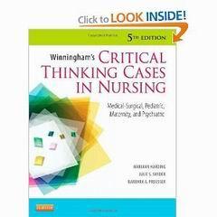 Critical thinking cases in nursing pdf - www hse ru  Custom Writing