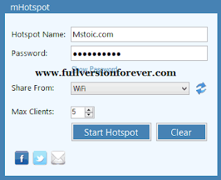 Free Virtual Router Wifi Sharing Software for Windows 7, 8, 10.