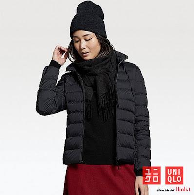 mua áo khoác giữ nhiệt uniqlo nữ đẹp, cá tính