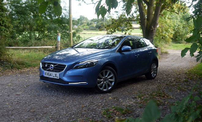 Volvo V40 D4 front view