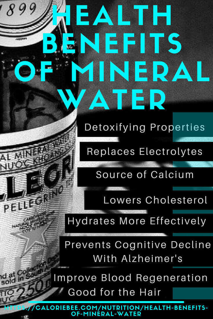 health benefits of mineral water