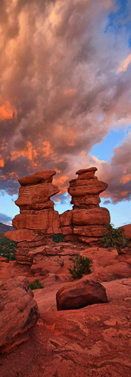 Garden of the Gods in Colorado Springs, Colorado and 50+ Secret Places in America That Most Tourists Don't Know About