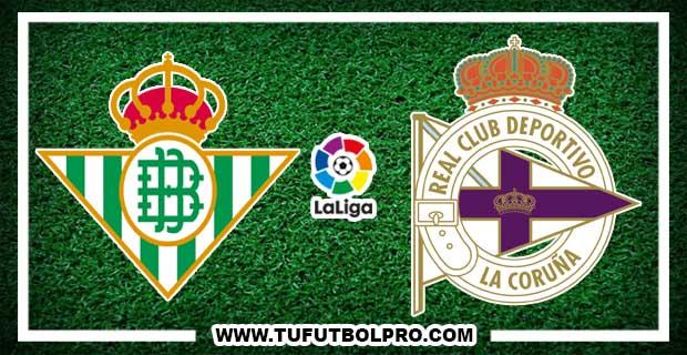 Ver Betis vs Deportivo EN VIVO Por Internet Hoy 16 de Septiembre 2017