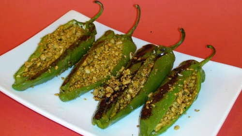 Masala Stuffed Pepper Fry Recipe
