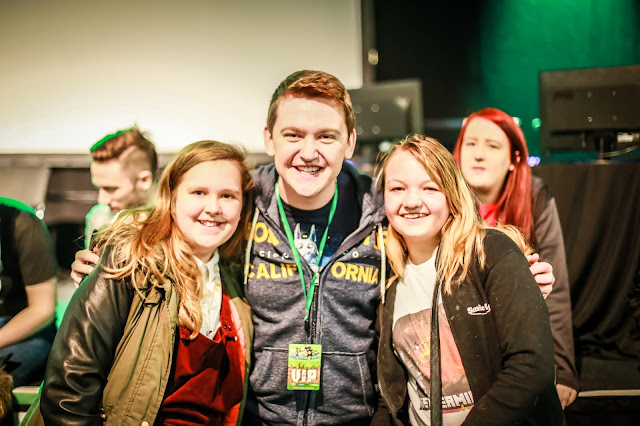Nethermined with Youtube star, minecraft convention in north east england, feb 2017