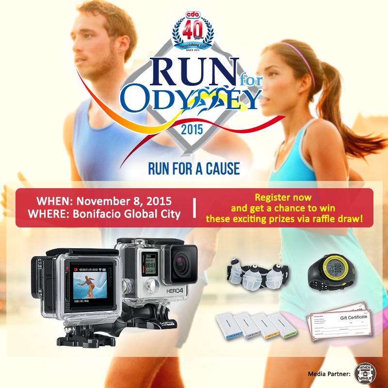 Get up and run for Odyssey!