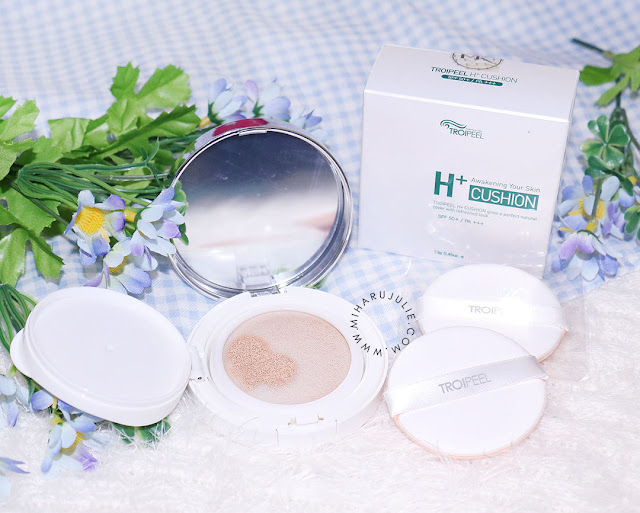 troipeel h+ healing cushion-review