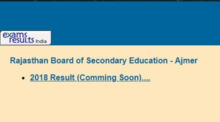 12 rbse bord result 2018 update the rbse officials have confirmed that the result of class 12 science and commerce will be announced on may 23 at 6pm malvernweather Image collections
