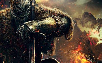 Dark Souls II - Chevalier Guerrier - Fond d'Écran en Full HD 1080p