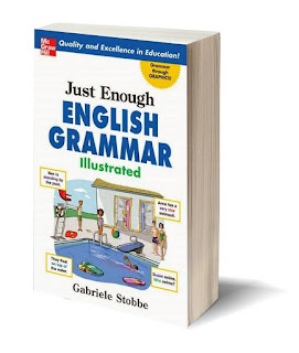 Just Enough English Grammar Illustrated (PDF) + Audio Books (MP3)