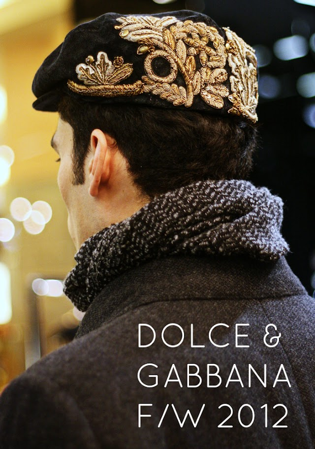 DOLCE & GABBANA FW2012 HIT THE STORE