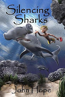 Silencing Sharks - a Children's book by John Hope